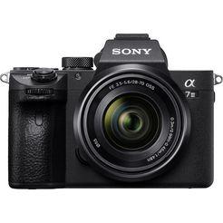 sony »ilce-7m3kb« systeemcamera (sel-2870, 24,2 mp, wifi nfc) zwart