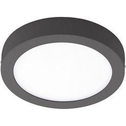 eglo, led-plafondlamp voor buiten »argolis«, zwart