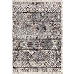 vloerkleed, »rixos 600«, festival, rechthoekig, hoogte 8 mm, machinaal geweven grijs