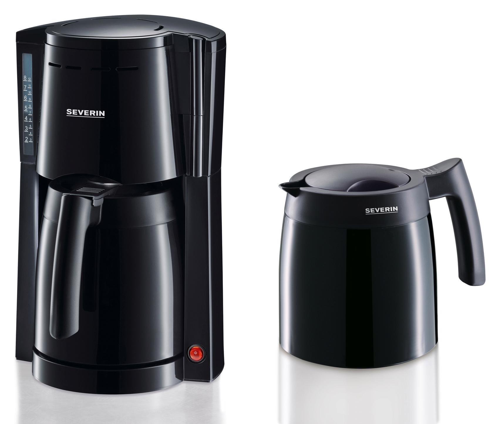Op zoek naar een Severin filterkoffiezetapparaat koffiezetapparaat met 2 thermoskannen - KA 9234, papieren filter 1x4? Koop online bij OTTO