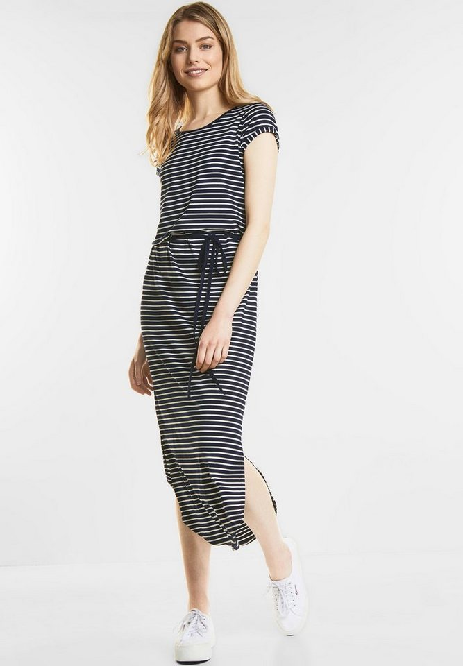 Street One Maxi-jurk met strepen blauw