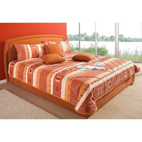 Bed uitvoering 2 oranje Westfalia Polsterbetten 112712