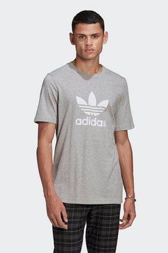 adidas originals t-shirt »trefoil t-shirt« grijs