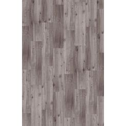 infloor »velour holzoptik eiche grau« tapijttegel grijs