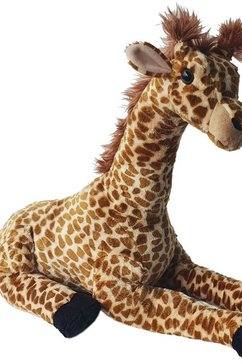 heunec knuffelbeest natureline softissimo giraf bruin