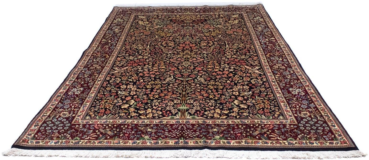 morgenland wollen kleed Rafsanjan Teppich handgeknüpft dunkelblau goedkoop op otto.nl kopen