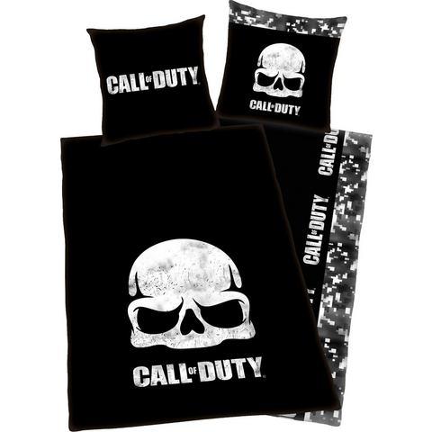Call of Duty Duvet Set Skull 135 x 200 cm-80 x 80 cm