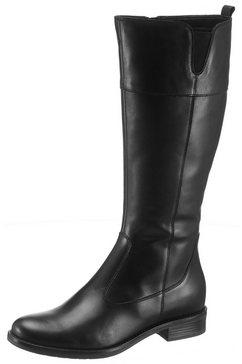 tamaris laarzen »cary« zwart