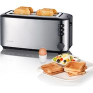 severin toaster »at 2509«, 1400 w zilver