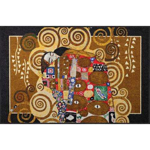 Vloerkleed, Erfüllung Melange, Salonloewe, rechthoekig, hoogte 7 mm, geprint