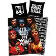 kinderovertrekset justice league met fotomotief (2-delig) multicolor