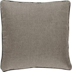 barbara home collection kussenovertrek ki-h barbara (1 stuk) grijs