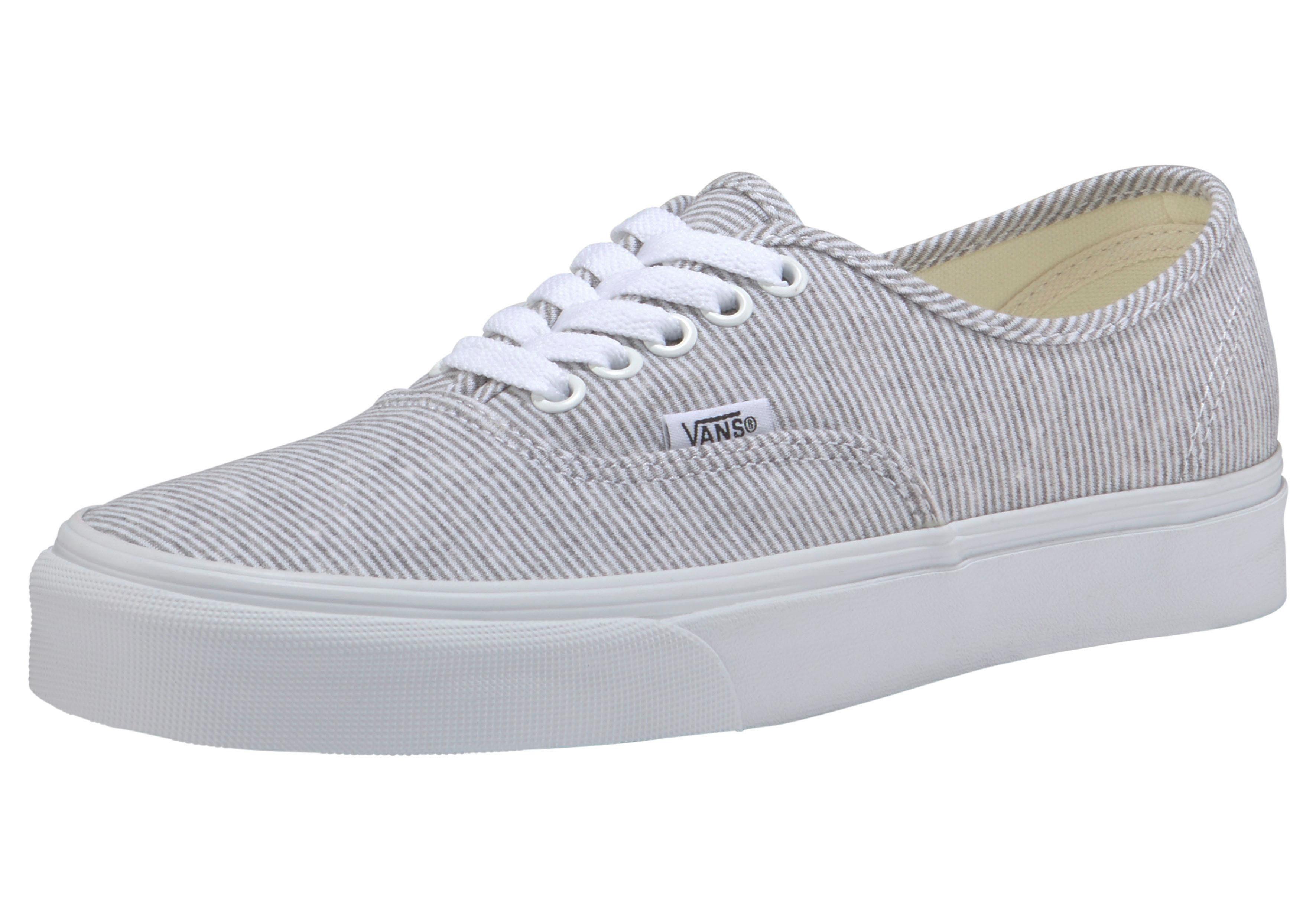 vans authentic grijs