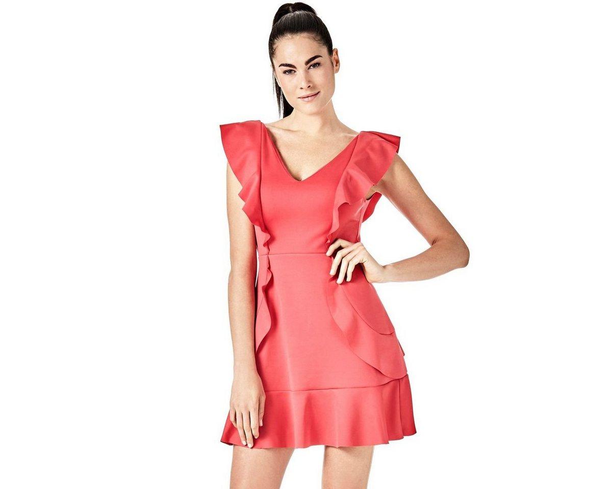 Guess jurk in A-lijn roze