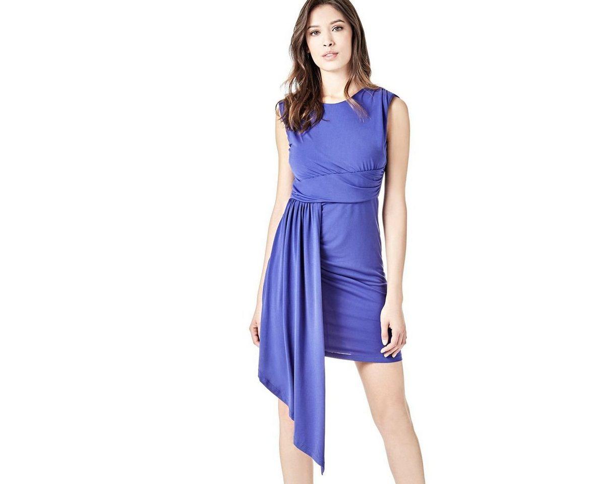NU 21% KORTING: Guess jurk in A-lijn blauw