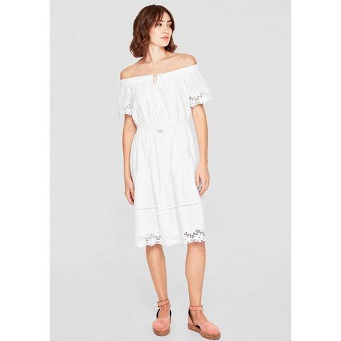 NU 15 KORTING s.Oliver RED LABEL Off shoulder jurk met borduursel