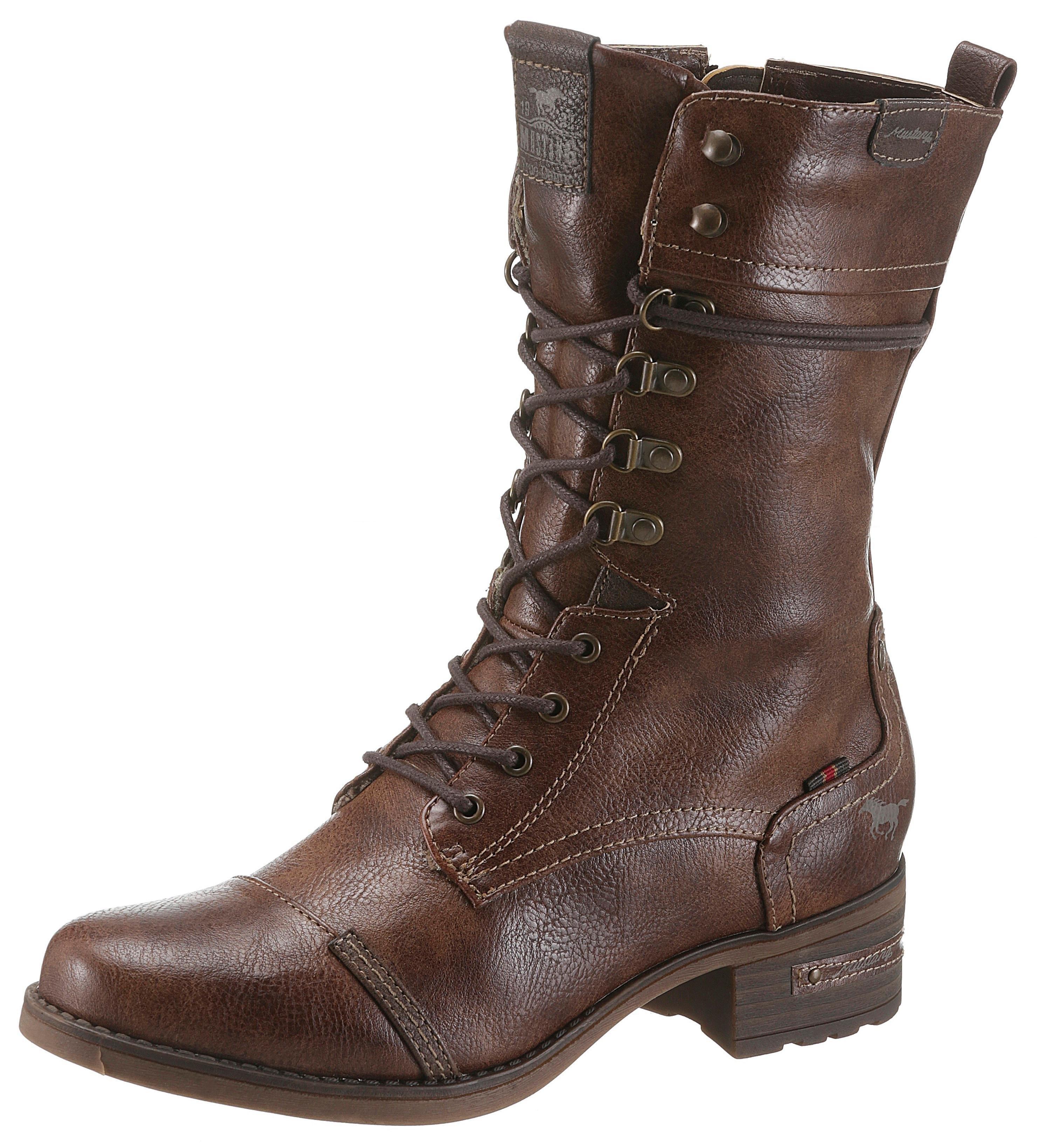 Mustang Shoes veterlaarzen bestellen: 14 dagen bedenktijd