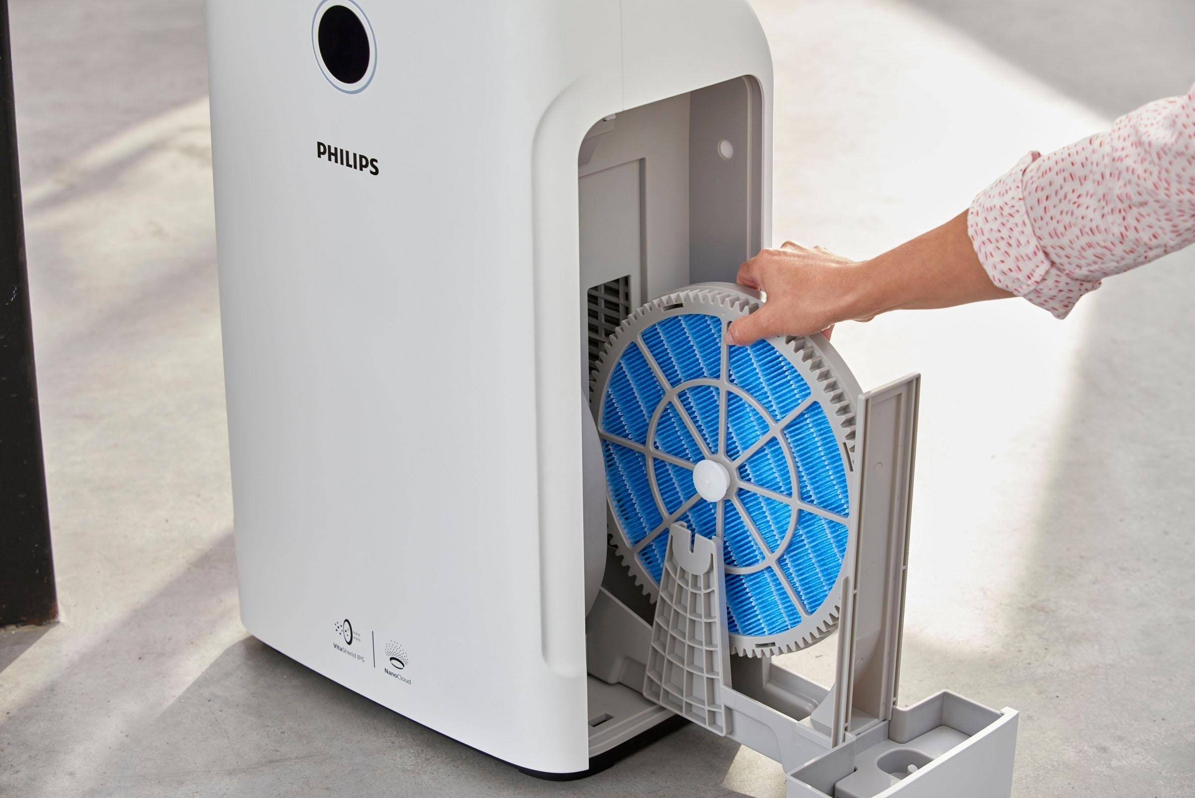 Philips combi-apparaat luchtbevochtiger en -reiniger AC3829/10 online kopen op otto.nl