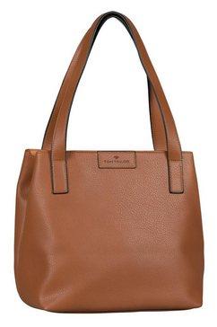 tom tailor shopper »miri zip« bruin