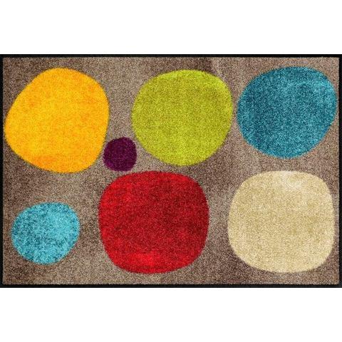 Mat, »Broken DotsColour«, SALONLOEWE, rechthoekig, hoogte 6 mm, gedessineerd