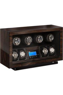 boxy watchwinder »boxy bldc voor 4 horloges, 309418« bruin