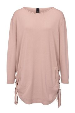longline-pullover roze