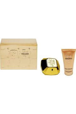 paco rabanne 2-delige geurset lady million goud