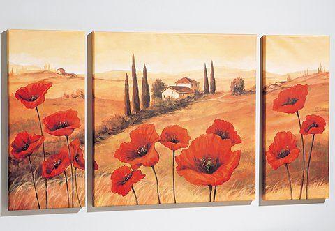 Artprint »Toscane«, Made in Germany, 3-dlg. set