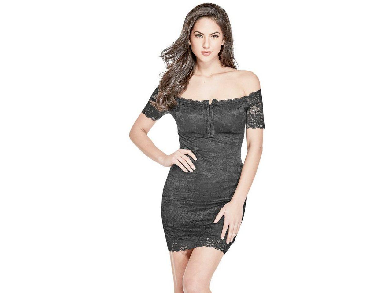 Guess jurk in A-lijn zwart