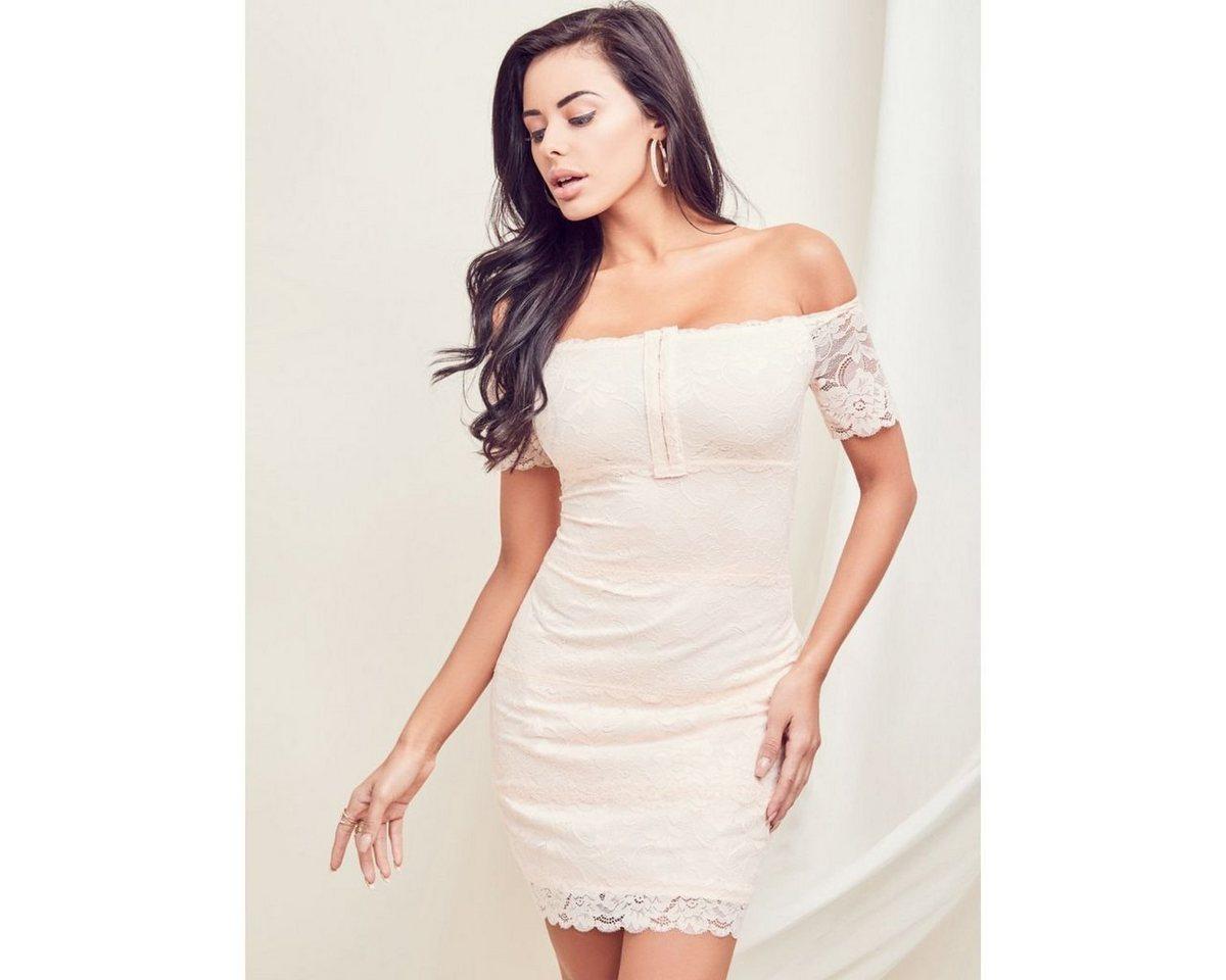 Guess jurk in A-lijn wit