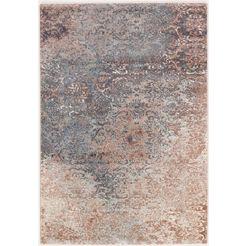 vloerkleed, »butterfly admiral«, oci die teppichmarke, rechthoekig, hoogte 13 mm, machinaal geweven blauw