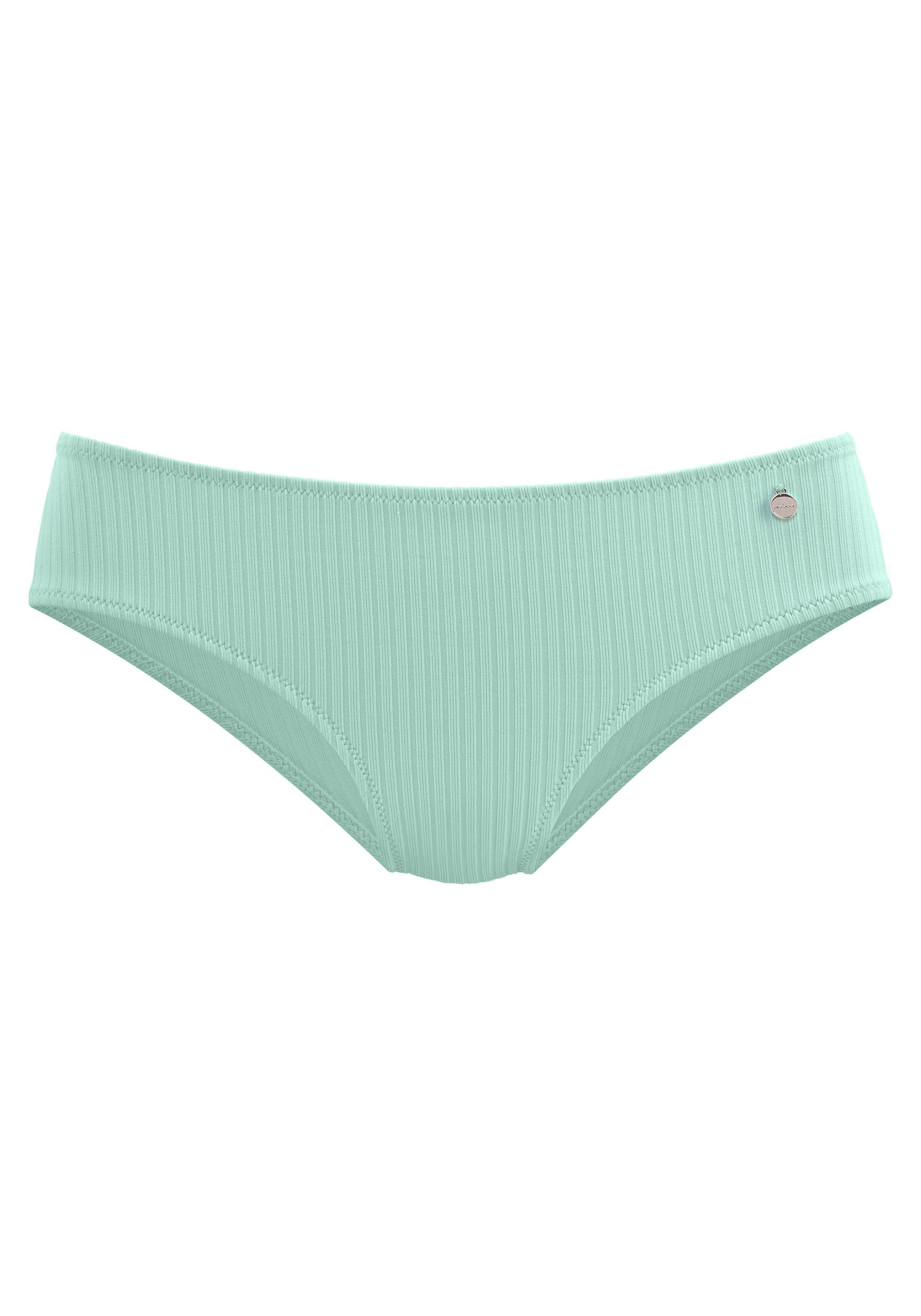 Lascana bikinibroekje Rippe in effen kleuren - verschillende betaalmethodes
