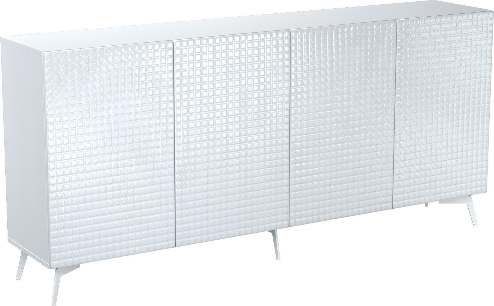 Bruno Banani dressoir »Design 3«, met 3D-fronten (hoogglans), in 2 breedten bestellen: 14 dagen bedenktijd
