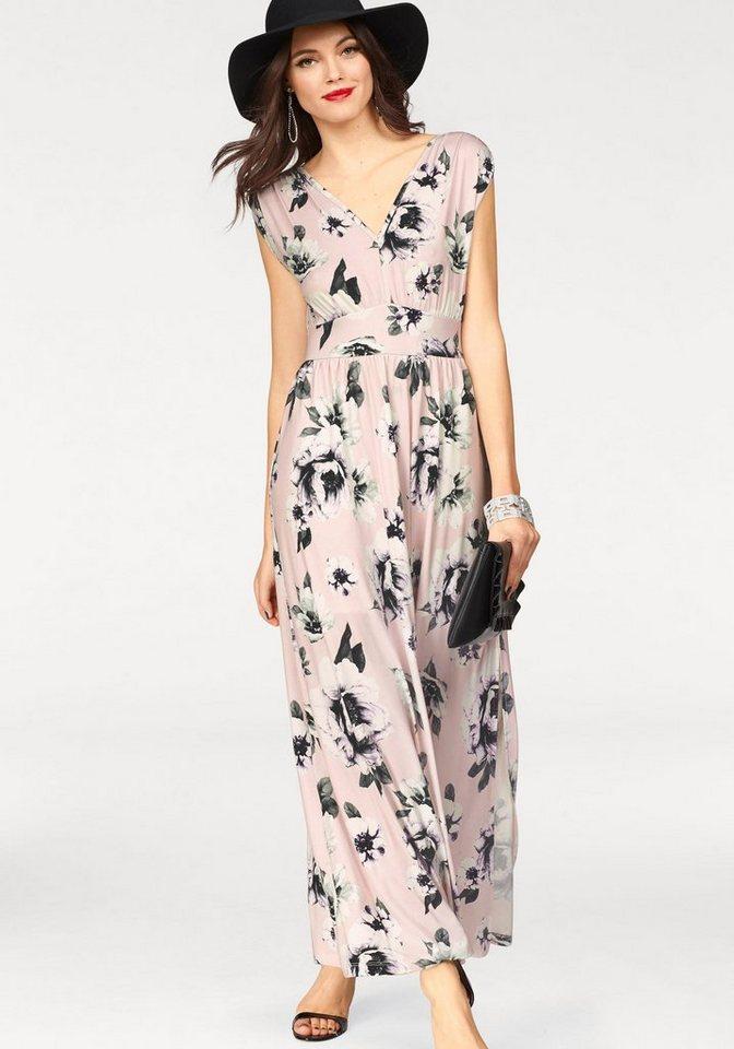 Melrose maxi-jurk roze