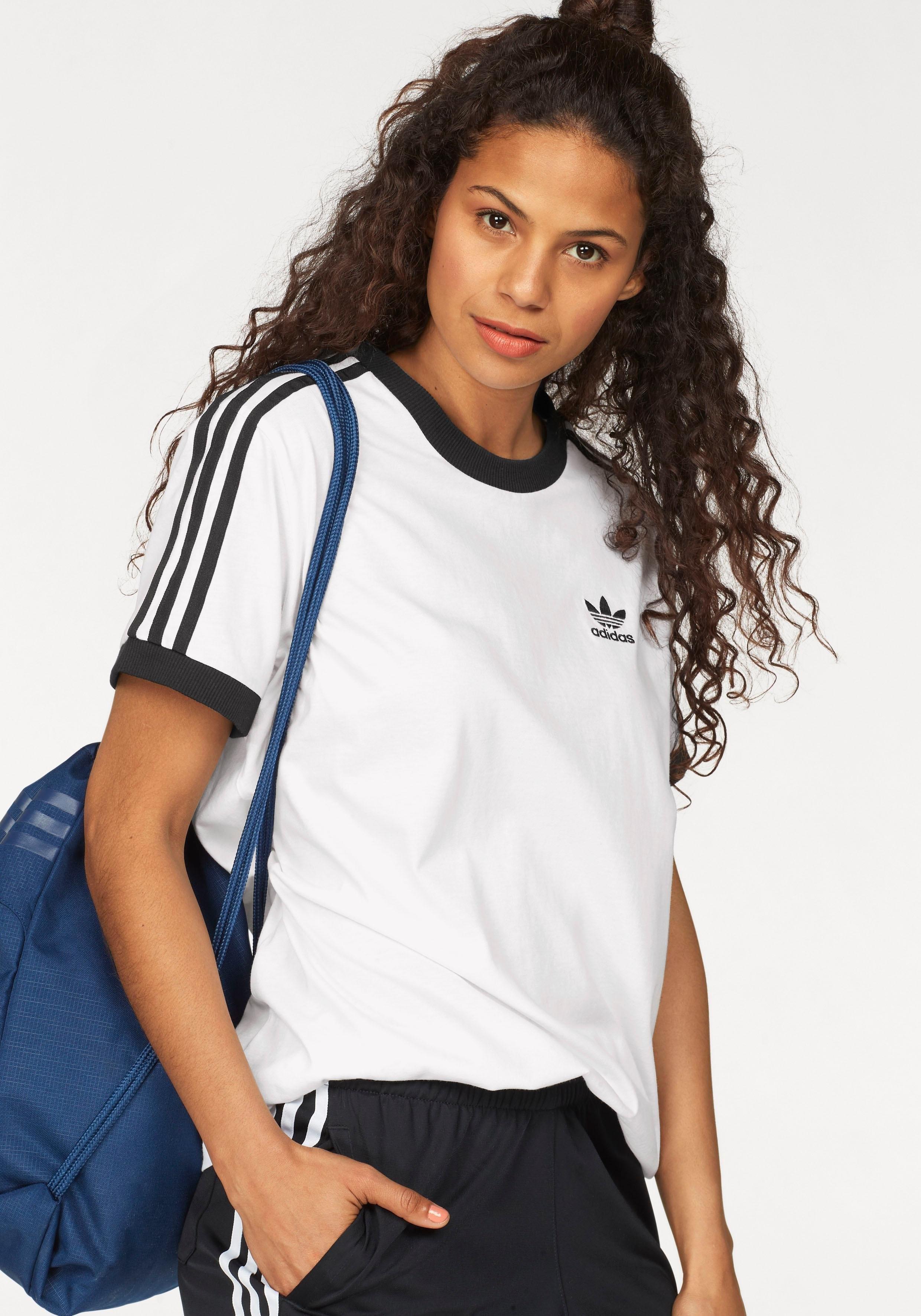 adidas Originals T-shirt »3 STRIPES TEE« online kopen op otto.nl