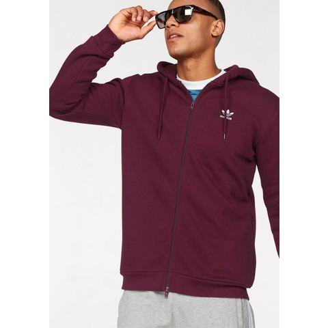 NU 21% KORTING: adidas Originals sweatvest met capuchon TRF FLC HOODIE