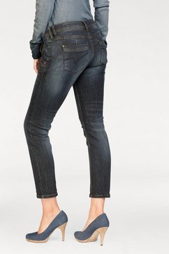 timezone slim fit jeans blauw