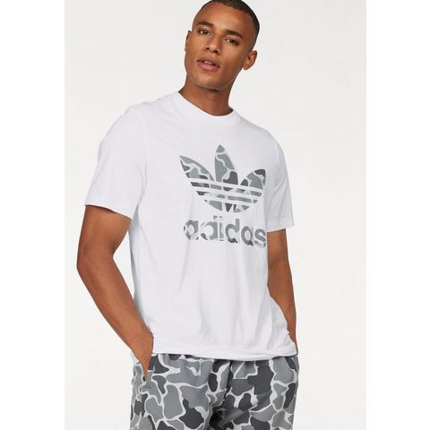 NU 15% KORTING: adidas Originals T-shirt CAMO TREFOIL TEE