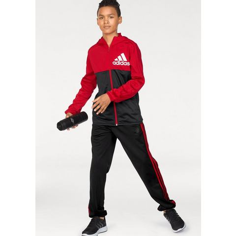 NU 15% KORTING: adidas Performance trainingspak YB BOS TRACK SUIT (2-delig)