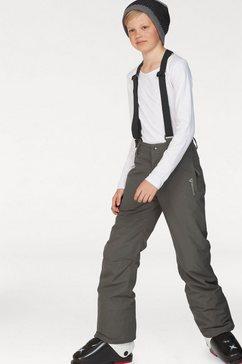 brunotti skibroek »footstrap jr w1819« grijs