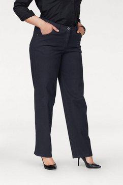 kjbrand straight jeans babsie: prettige bovenbeenwijdte blauw