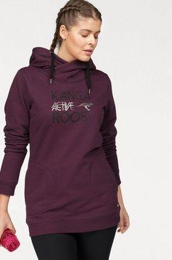 kangaroos sweatshirt paars