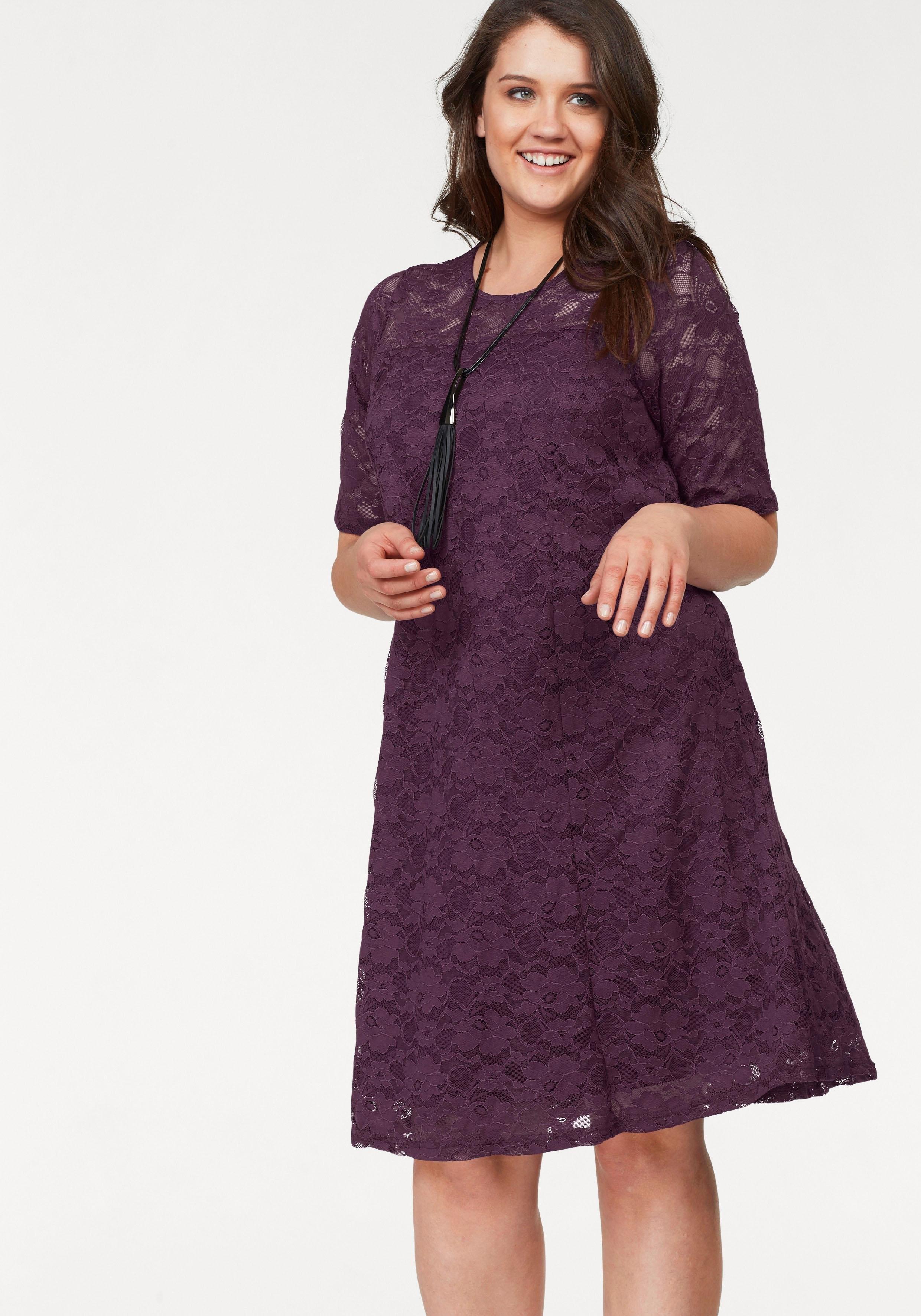 08019e9eeee31e Afbeeldingsbron  Zhenzi kanten jurk »Getszy«
