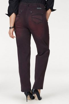 kjbrand straight jeans »babsie« rood