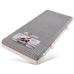 besports gelschuimmatras duo dynamic 2300 tweezijdig te gebruiken matras met twee verschillend stevige ligzijden hoogte 23 cm wit