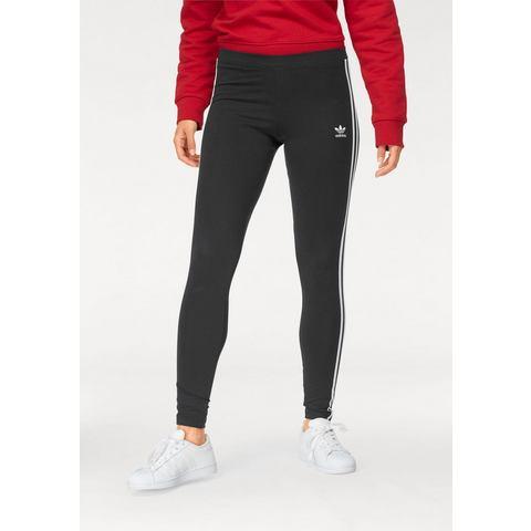 adidas-Legging 3 Stripes in zwart