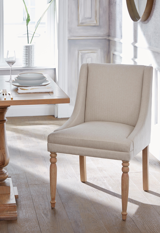 Guido Maria Kretschmer Home&Living stoel Davit met mooie beklede zitting en gekrulde, aansluitende armleuningen - gratis ruilen op otto.nl