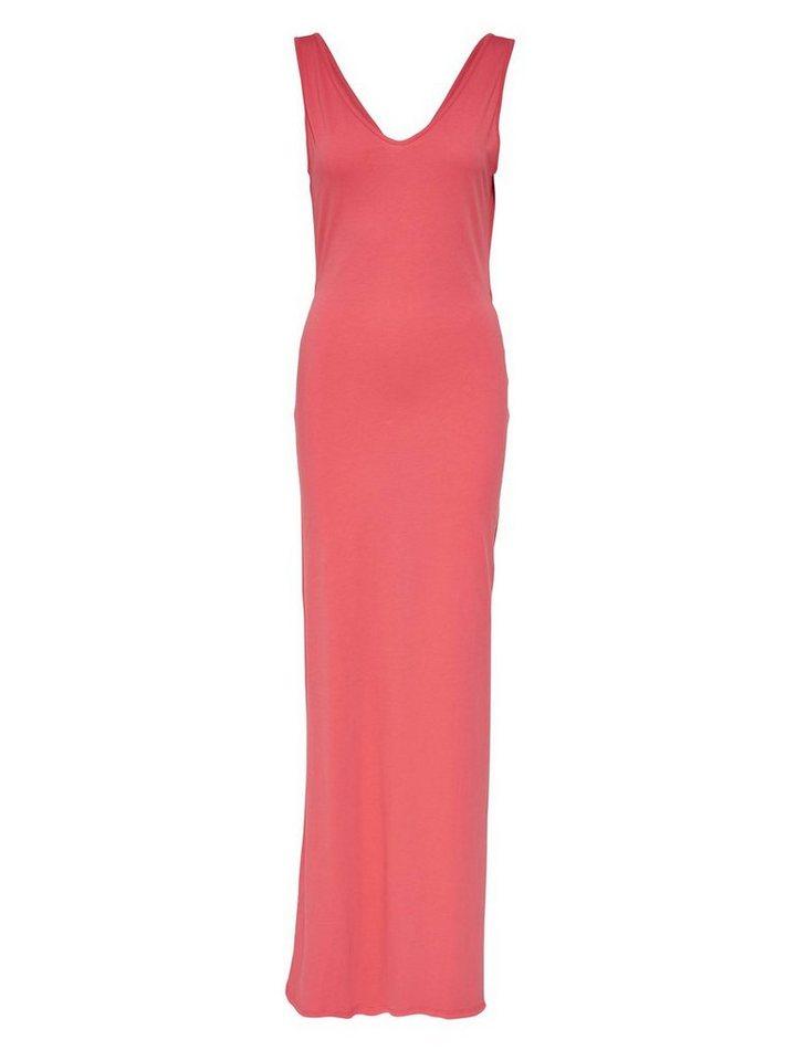 ONLY Effen Maxi jurk roze