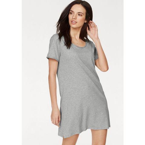 Dames Calvin Klein basic nightshirt Calvin Klein grijs Nachtkleding