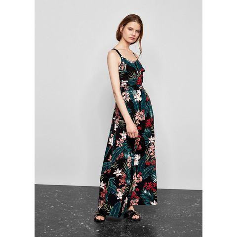 NU 21 KORTING Q S designed by Luchtige maxi jurk met tropenprint, Maxi-jurk Lange jurk met smalle, in de lengte verstelbare bandjes. Rondom met trendy tropische motiefprint. Neckline aan de voorkant met ruche van volant. Achterpand met elastische inzet bovenaan.Extra gegevens:Merk : Q/s Designed ByKleur : zwartVerzendkosten : 3.95Maat/Maten : XS (34);S (36);S (38);M (40);M (42);L (44)Levertijd : Levertijd: 3 - 5 werkdagenAanbiedingoude prijs: € 59.99